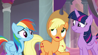 Applejack -to tell you the truth- S8E9