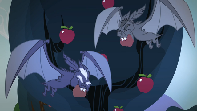 File:Bats taking the apples S4E07.png