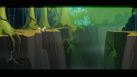 Daring Do at a cliff edge S2E16