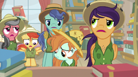 Daring Do fans all tongue-tied S9E21