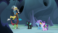 "Discord Changeling ""who were chasing me"" S6E26"