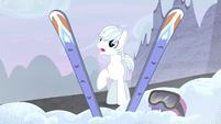 Double Diamond discovers his old skis S5E2