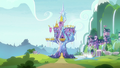 Exterior view of Castle and School of Friendship S8E19.png