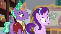 Firelight takes out Starlight's old blanket S8E8