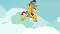 Flash Magnus appears through the clouds S7E16