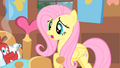 Fluttershy alarmed because Philomena has fever S1E22.png
