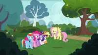 Fluttershy embarrassed S4E16