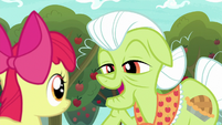 "Granny Smith ""same as you are now"" S9E10"