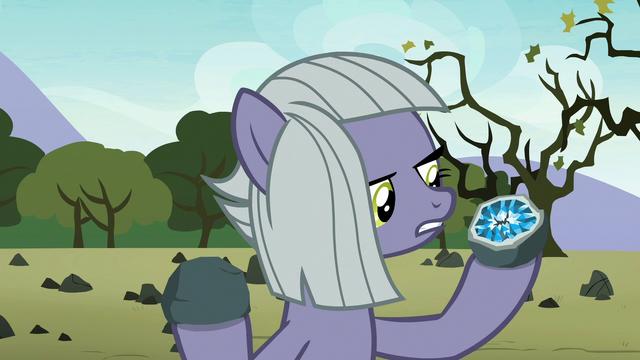 "File:Limestone Pie ""Maud sees him as a gem"" S8E3.png"