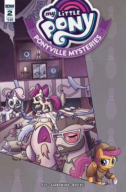 Ponyville Mysteries issue 2 cover A