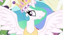 Princess Celestia reunite with my sister S3E13