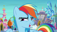 "Rainbow Dash ""what would be really fun?"" S8E5"