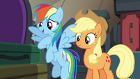 Rainbow Dash --we can't take on Braeburn-- S6E18