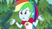 Rainbow Dash apologizing to Applejack EG4