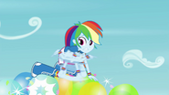 Rainbow Dash popping balloons EG3