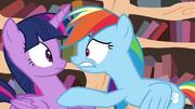 Rainbow worried S4E21
