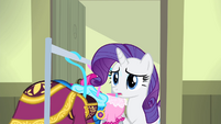 Rarity bringing in the dresses S4E19