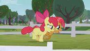 S03E08 Babs Seed i Apple Bloom zmęczone wyścigiem