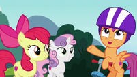 Scootaloo --we can help her find her purpose!-- S6E19