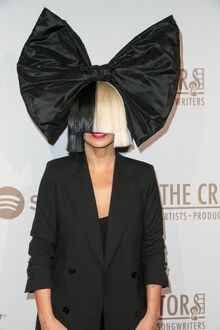 Sia red carpet