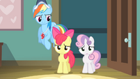 Sweetie Belle 'Not without you, Scootaloo' S4E05
