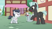 Thunderlane appears in front of Rumble S7E21
