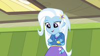 Trixie appears before Twilight EG