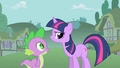 Twilight 'Pinkie is not weird' S1E15.png