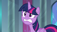 Twilight Sparkle at stress level three S9E1
