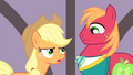 "Applejack ""couldn't bring herself to come into the spotlight"" S4E14.png"