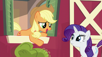 Applejack --why don't you go on ahead-- S6E10