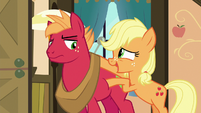 Applejack --you know how Big Mac can get-- S6E23