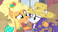 Applejack -there's the Rarity I know- S4E13