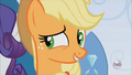 Applejack agreeing with Rarity S3E2.png