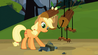 Applejack and fake timberwolf S03E09