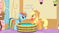 Applejack pulls out an apple from the bob S1E25.png