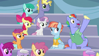 Bow Hothoof -but now, she is!- S7E7
