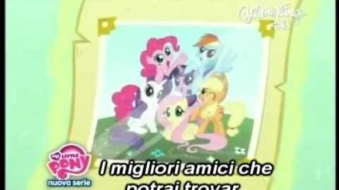 MLP FIM Italian Opening Season 2(With Lyrics)