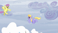 Parasol and Cloud Kicker having a snowball fight S5E5.png
