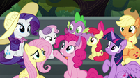 Pinkie Pie --honest-to-goodness Wonderbolt-- S6E7
