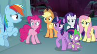 Ponies make a horrifying realization S8E25