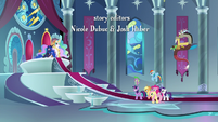 Princess Luna explains to the Mane Six S9E1