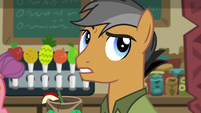 "Quibble Pants ""so hard to find a pony"" S6E13"