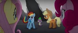 "Rainbow Dash ""we gotta get her back!"" MLPTM"