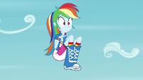 Rainbow Dash hangs in midair EG3
