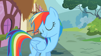 Rainbow Dash waiting S2E8