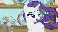 "Rarity ""before they feel it"" S7E19"