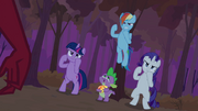 S02E21 Rarity, Rainbow i Twilight gotowe do walki