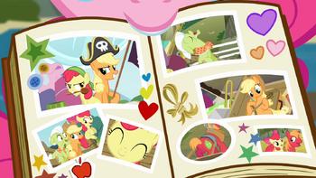 S04E09 Album rodzinny Pinkie
