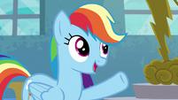 S06E07 Rainbow wczuwa się w rolę Applejack